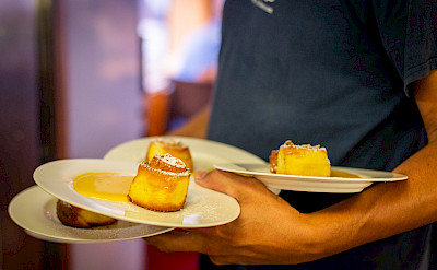 Dessert is served! | Ave Maria | Bike & Boat Tour