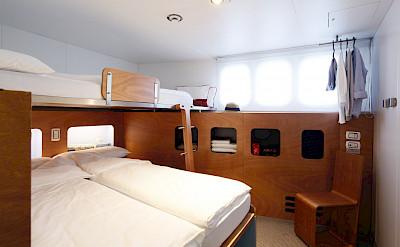 Superior Double Cabin | Ave Maria | Bike & Boat Tour