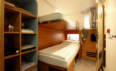 Twin Bunk Beds | Ave Maria | Bike & Boat Tour