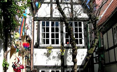 Schnoor in Bremen - photo via Flickr:ohaoha