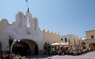 Agora on Kos Island, Greece. Flickr:Mindaugas Danys