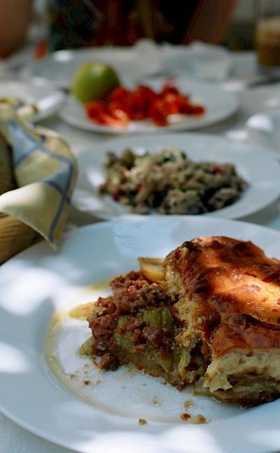 Dining on Chalki Island, Greece. Flickr:unicellular