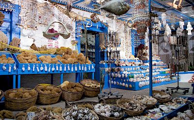 Natural sponges & other souvenirs on Kos Island in the South Greek Aegean Sea. Flickr:Eric Borda