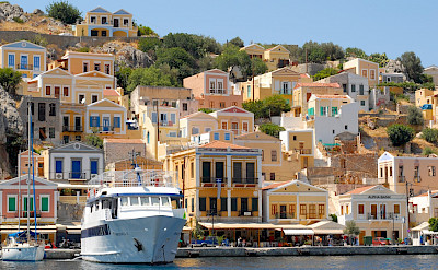 Port of Symi Island in Greece. Flickr:J B