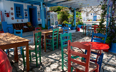 Restaurant on Kos Island in Greece. Flickr:Anna & Michal