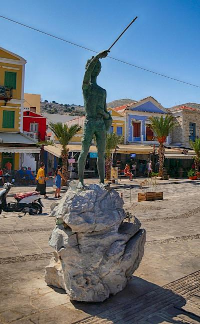 Biking on Symi Island in Greece. Flickr:Scouse Smurf