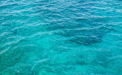 Azure blue waters of Kos Island in the Aegean Sea, Greece. Flickr:sam chills