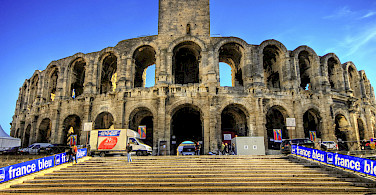 Arles Ampitheatre, France. Photo via Flickr:Wolfgang Staudt