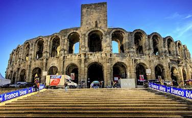 Arles Ampitheatre - via Flickr: Wolfgang Staudt
