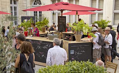 Wine tasting in Avignon, France. Flickr:Vins Rhône