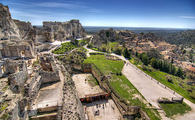 Ruins in Les-Baux-de-Provence, France. Flickr:Salva Barbera