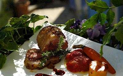 Fancy French food in the Provence. Flickr:vinhosdeprovence