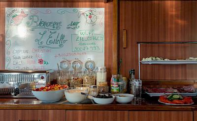 Breakfast Buffet | L'Estello | Bike & Boat Tours