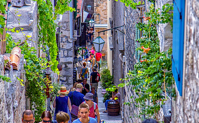 Sightseeing on Hvar Island in Croatia. Flickr:Arnie Papp