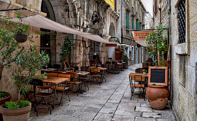 Diocletian's Wine Bar in Split, Croatia. Flickr:Jocelyn Erskine-Kellie