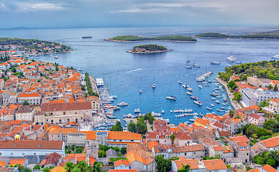 Harbor of Hvar Island in Croatia. Flickr:Arnie Papp