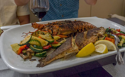 Fresh fish on Hvar Island in Croatia! Flickr:Arnie Papp