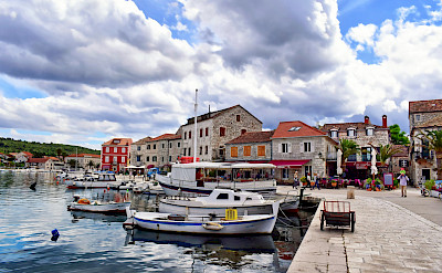 In Old Town of Stari Grad on Hvar Island in Croatia. Flickr:Jocelyn Erskine-Kellie