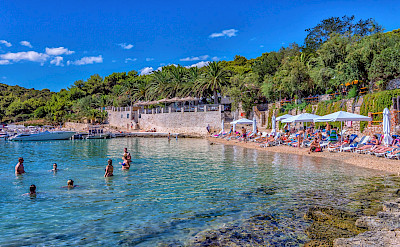 Swimming on Hvar Island in Croatia. Flickr:Arnie Papp