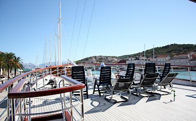 sun deck - Princess Diana