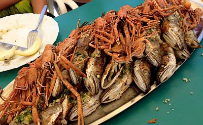 Seafood aplenty on this Dalmatian Bike Tour, Croatia. Photo via Flickr:Patty Ho