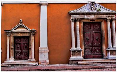 Fancy doors in Zadar, Croatia. Flickr:Mario Fajt