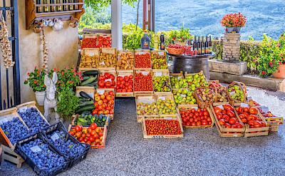 Fruit market in Croatia. Flickr:Arnie Papp