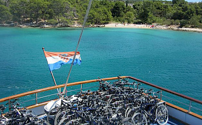 On board the boat enjoying the Dalmatian coast. Photo by Erhard & Silvia Sommer