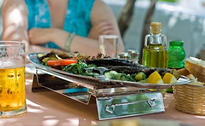 Fresh seafood in Primošten, Croatia. Flickr:Nikolaj Potanin