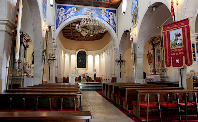 Church in Primošten, Croatia. Flickr:Chantal Koening