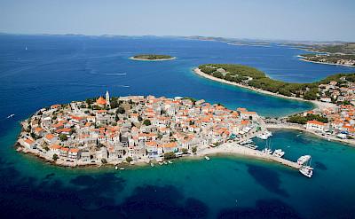 View of Primošten, Dalmatian Coast, Croatia. Flickr:Hotel Zora Primošten
