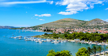 Biking near Trogir in Croatia. Photo via Flickr:Nick Savchenko