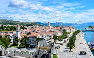 Overlooking Trogir in Croatia. Flickr:Nick Savchenko