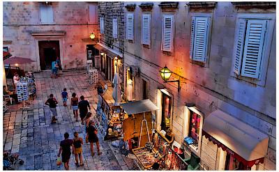 Evening stroll through Trogir, Croatia. Flickr:Mario Fajt