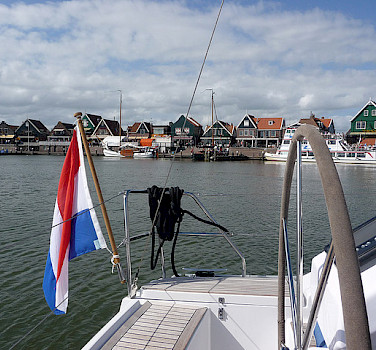 Biking and sailing around the IJsselmeer. Photo via Flickr:Marc van der Chijs