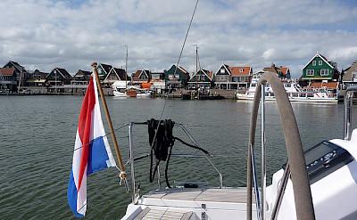 Biking and sailing around the IJsselmeer. Photo via Flickr:Marc van der Chijs