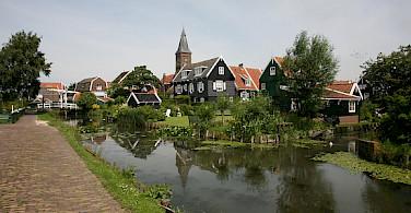 Marken is a quintessential fishing village. Photo via Flickr:bert knottenbeld