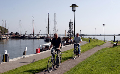Scenic cycling and quiet bike paths in Holland. Photo courtesy of Netherlands Board of Tourism