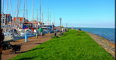 Volendam on Marker Sea, North Holland. Photo via Flickr:Jose A.
