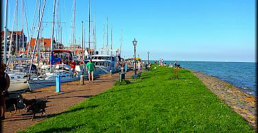 Volendam on Marker Sea, North Holland. Photo via Flickr:Jose A.