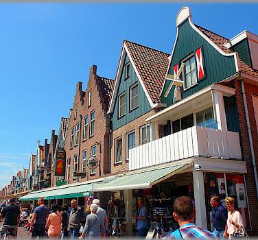 Bike rest in Volendam, North Holland. Photo via Flickr:Jose A.