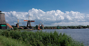 Open Air Museum of Zaanse Schans, Zaandam, North Holland. Photo via Flickr:kismihok