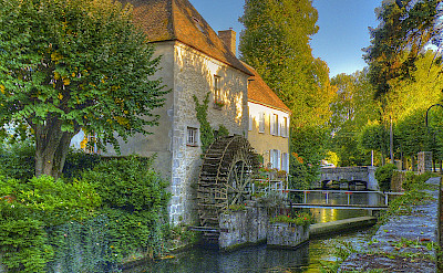 Nemours - the Seine and Marne Rivers - photo via Flickr:@lain G