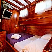 Double Cabin | Deriya Deniz | Bike & Boat Tours