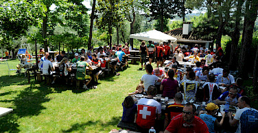 Picnic at the farm in Vecciano every Monday!