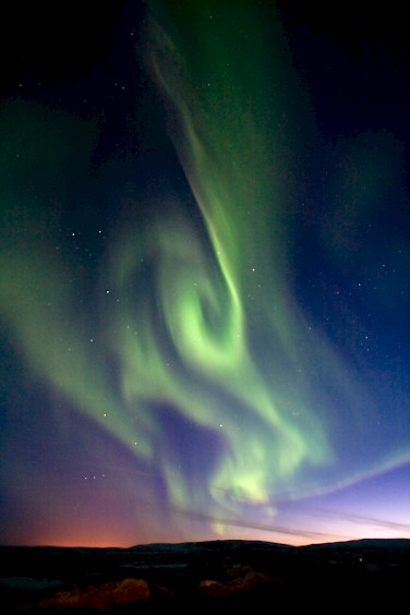 Northern Lights - photo by Keith Marshall via Flickr