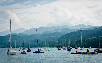 Attersee, Salzkammergut, Austria. Photo via Flickr:Laenulfean