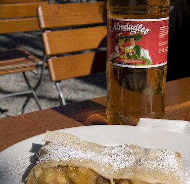 Apfelstrudel - the perfect Austrian bike tour treat! Photo via Flickr:Marco Sanchez