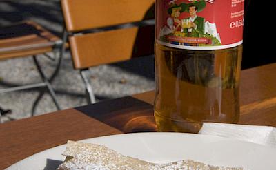 Apfelstrudel - the perfect Austrian bike tour treat! Photo via Flickr:Marco Sanchez