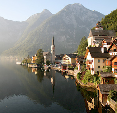 Hallstatt on the Hallstätter See. Photo by Patrick Hickey
